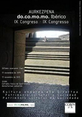 Congreso Docomomo Donostia 2016
